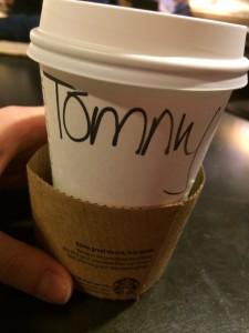 Starbucks Tobias Dunkel