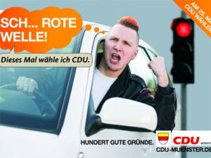 Wahlwerbung Münster