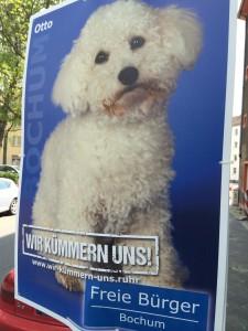 Wahlverbung Bochum - Tobias Dunkel