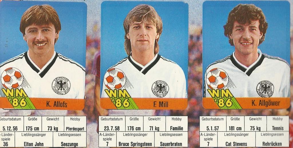 WM-Spieler 1986 Tobias Dunkel