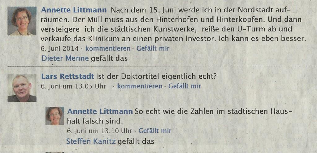 Wahlkampfphrasen Tobias Dunkel