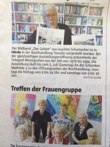 Tobias Dunkel: Aus der Lokalzeitung