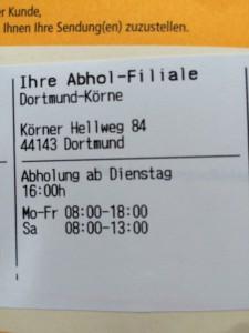 Filial-Tour durch Dortmund