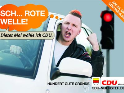 Wahlwerbung CDU Münster